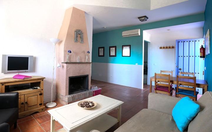 typisch spaanse woonkamer