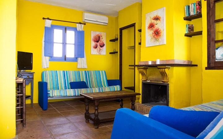 Casa Malaguena woonkamer